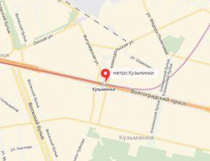Ремонт окон на станции метро Кузьминки