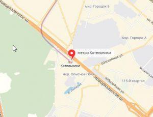 Ремонт окон на станции метро  Котельники