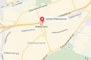 Ремонт окон на станции метро  Новокосино